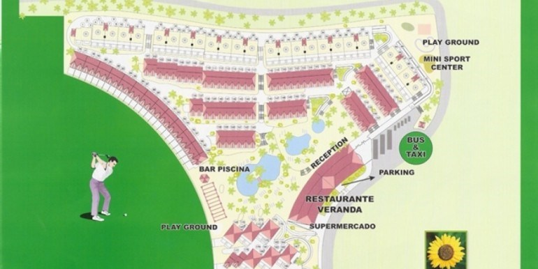 2 bed townhouse for sale in Las Americas