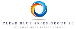 Estate agency logo for Clear Blue Skies SL